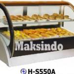 Jual Mesin Pastry Warmer (Hot Showcase) Penyaji Roti di Blitar