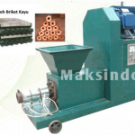Mesin Pembuat Briket Kayu Biomas