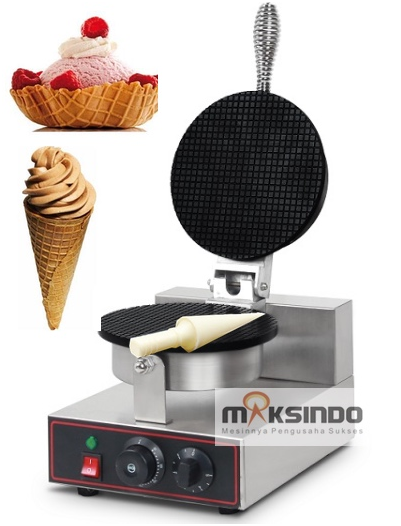Mesin Pembuat Cone Ice Cream (Cone Baker) 2 tokomesin blitar