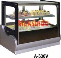 Mesin Countertop Cake Showcase