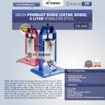 Jual Mesin Pembuat Sosis (Cetak Sosis) Stainless Steel di Blitar