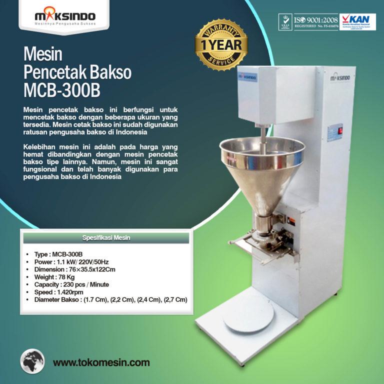 Mesin Pencetak Bakso MCB-300B