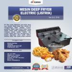 Jual Mesin Deep Fryer (Listrik) – Penggoreng Serbaguna di Blitar