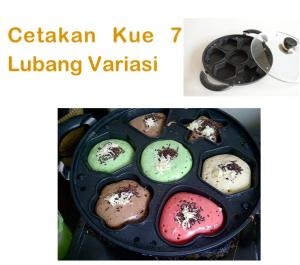 cetakan kue 7 lubang variasi tokomesin blitar
