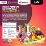 Jual Mesin Es Krim Buah Rumah Tangga di Blitar