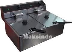 mesin deep fryer listrik 2 tokomesin blitar
