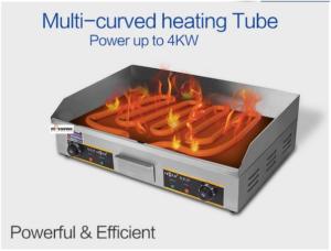 Mesin Pemanggang Griddle (listrik) - EEG820 2 tokomesin blitar