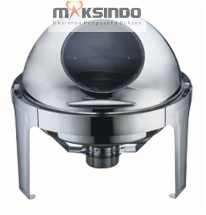 Chafing Dish Bentuk Bulat (Round Roll) 6 Liter 1 tokomesin blitar