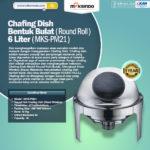 Jual Chafing Dish Bentuk Bulat (Round Roll) 6 Liter di Blitar