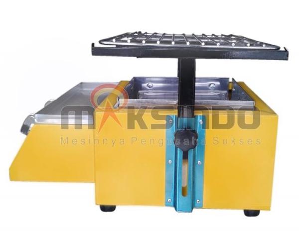Mesin Pemanggang Sate - BBQ 2 Tungku (Gas) 2 tokomesin blitar