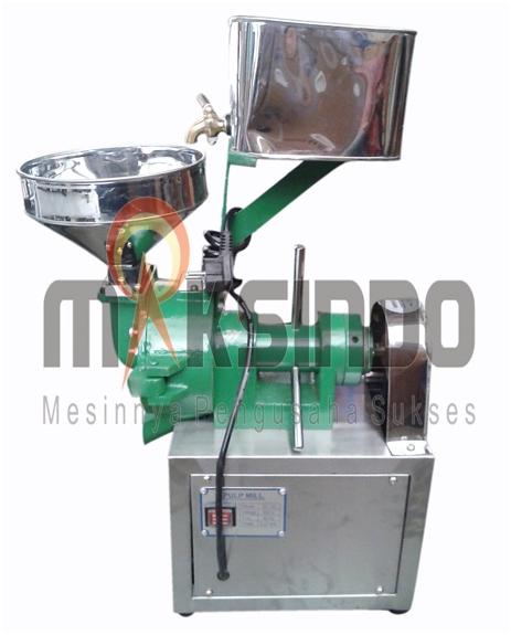 Mesin Pulp Grinder Pembubur Kacang-Kacangan 3 tokomesin blitar
