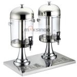 Jual Juice Dispenser / Buffet Dispenser 2 Tabung di Blitar
