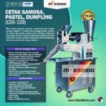 Jual Cetak Samosa, Pastel, Dumpling (CDS-120) di Blitar