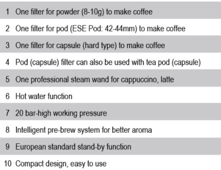Mesin Kopi Espresso Semi Auto - MKP50 3 tokomesin blitar