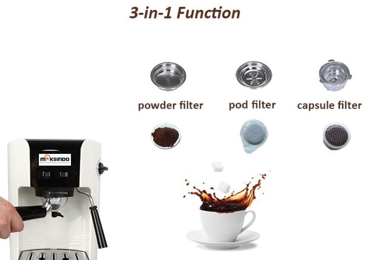 Mesin Kopi Espresso Semi Auto - MKP50 7 tokomesin blitar