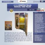 Jual Mesin Penetas Telur Manual 1000 Telur (EM-1000) di Blitar