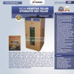 Jual Mesin Penetas Telur Otomatis Kapasitas 500 Telur (EM-500AT) di Blitar