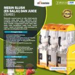 Jual Mesin Slush (Es Salju) dan Juice – SLH03 di Blitar