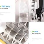 Jual Mesin Slush (Es Salju) dan Juice – SLH01 di Blitar