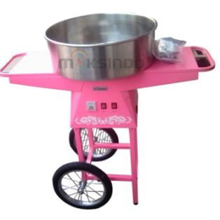 Jual Mesin Cotton Candy + Grobak di Blitar