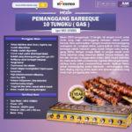 Jual Pemanggang BBQ (gas) 8 Tungku di Blitar