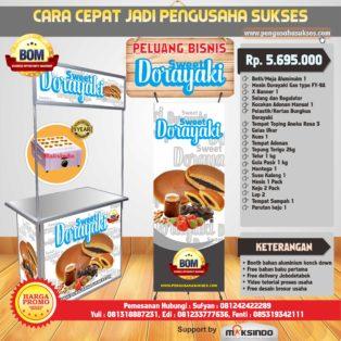 Paket Usaha Sweet Dorayaki (Gas) Program BOM