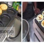 Jual Mesin Burger Telur Serbaguna (Gas- BURG9) di Blitar