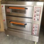 Jual Mesin Oven Roti Gas 2 Rak 4 Loyang (GO24) di Blitar
