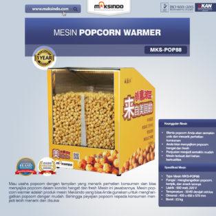 Jual Mesin Popcorn Warmer (POP88) di Blitar