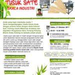 Training Usaha Tusuk Sate, 21 Oktober 2017