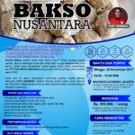 Training Usaha Aneka Bakso dan Toping, 26 November 2017