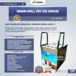 Jual Mesin Roll Fry Ice Cream RIC50 di Blitar