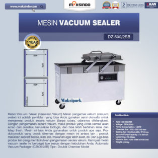 Jual Mesin Vacuum Sealer (DZ500/2SB) di Blitar