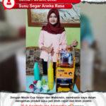 Susu Segar Aneka Rasa : Mesin Cup Sealer Maksindo Membantu Pengemasan Susu Lebih Cepat dan Praktis
