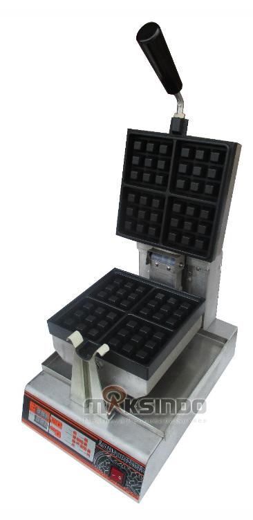 Jual Mesin Waffle Bentuk Kotak (WF-60) di Blitar
