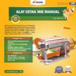 Jual Cetakan Mie Manual Rumah Tangga ARDIN di Blitar