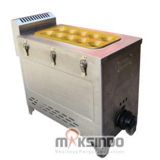 Jual Mesin Pembuat Egg Roll (Gas) GRILLO-12SS di Blitar