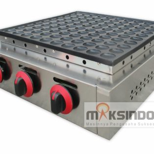 Jual Mini Pancake Poffertjes Gas 100 Lubang MKS-MPC100 di Blitar