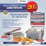 Jual Paket Mesin Long Potato Kentang Panjang, MKS-MER2 di Blitar