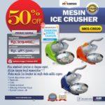 Jual Mesin Ice Crusher MKS-CRS20 di Blitar