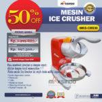 Jual Mesin Ice Crusher MKS-CRS30 di Blitar