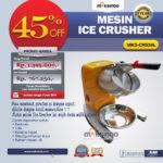 Jual Mesin Ice Crusher MKS-CRS30L di Blitar