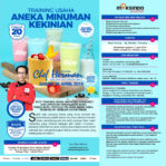 Training Usaha Aneka Minuman Kekinian, Sabtu 20 April 2019