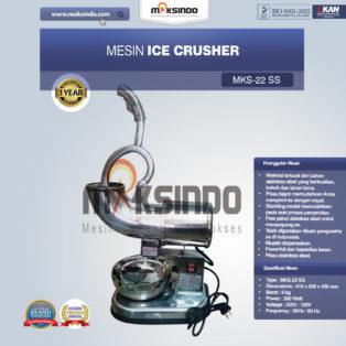 Jual Mesin Ice Crusher (MKS-22SS) di Blitar