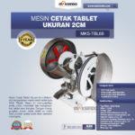 Jual Mesin Cetak Tablet Ukuran 2cm MKS-TBL66 di Blitar