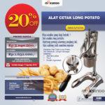 Jual Alat Cetak Long Potato MKS-LPCT50 di Blitar
