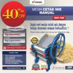 Jual Cetak Mie Manual Untuk Usaha (MKS-150B) di Blitar