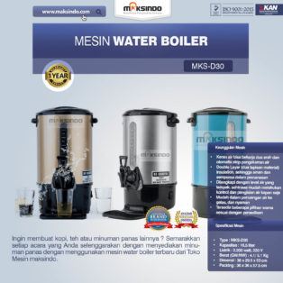 Jual Mesin Water Boiler (MKS-D30) di Blitar