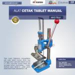 Jual Alat Cetak Tablet Manual MKS-TBL8 di Blitar