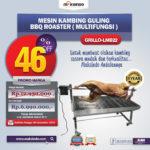 Jual Mesin Kambing Guling BBQ Roaster (GRILLO-LMB22) di Blitar